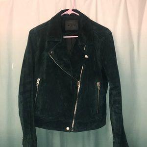 Blanknyc suede jacket.